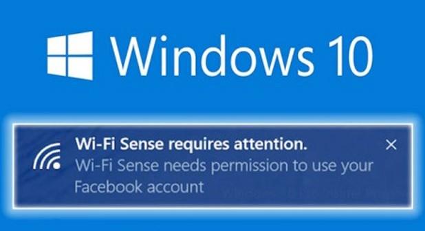 Wi-Fi Sense Windows 10