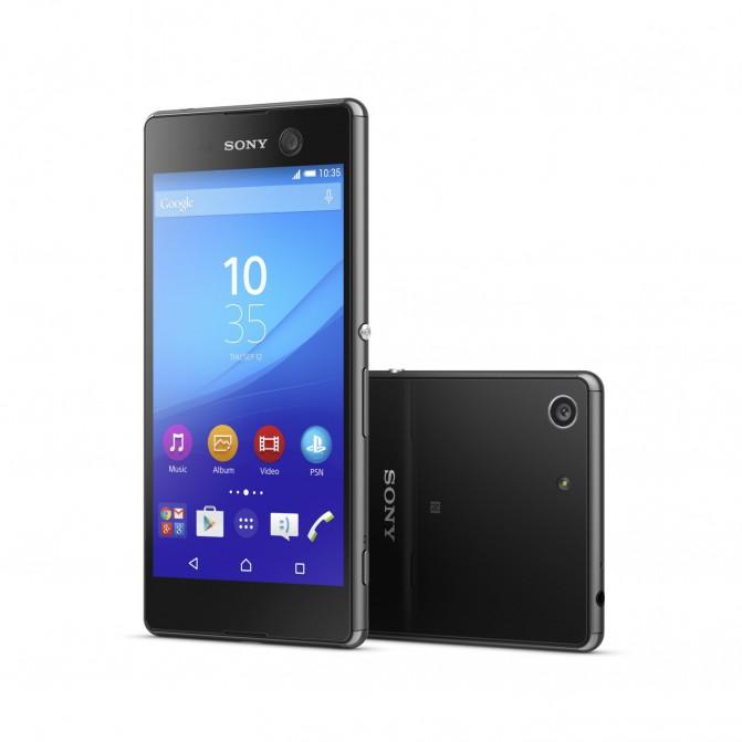 Sony Xperia M5 з 5-дюймовим Full HD екраном