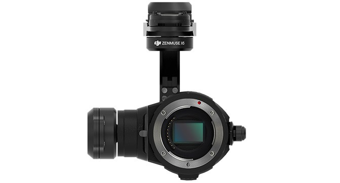 ZENMUSE X5 Gimbal and Camera Lens Excluded